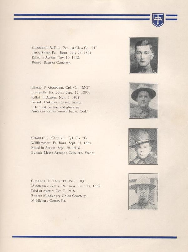 314th Infantry Regiment A.E.F. - Nineteenth Annual Reunion - 1937 - Page 9
