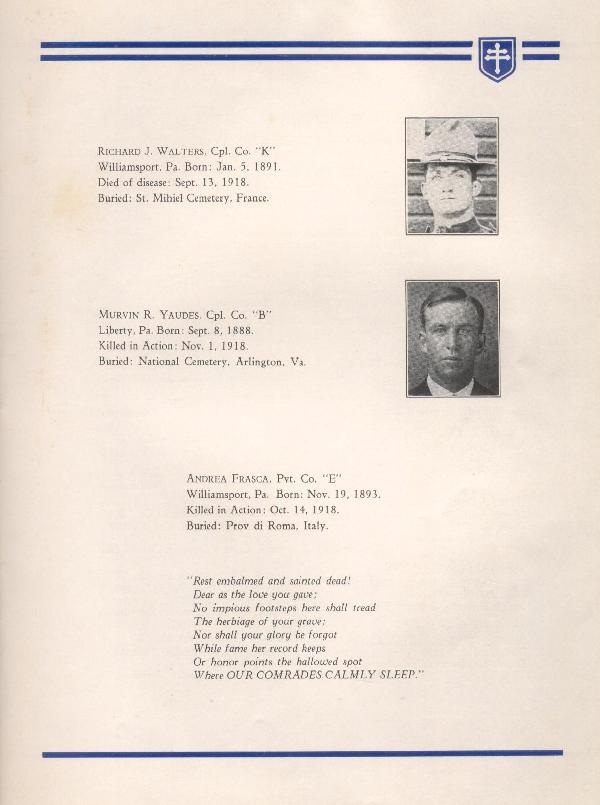 314th Infantry Regiment A.E.F. - Nineteenth Annual Reunion - 1937 - Page 13