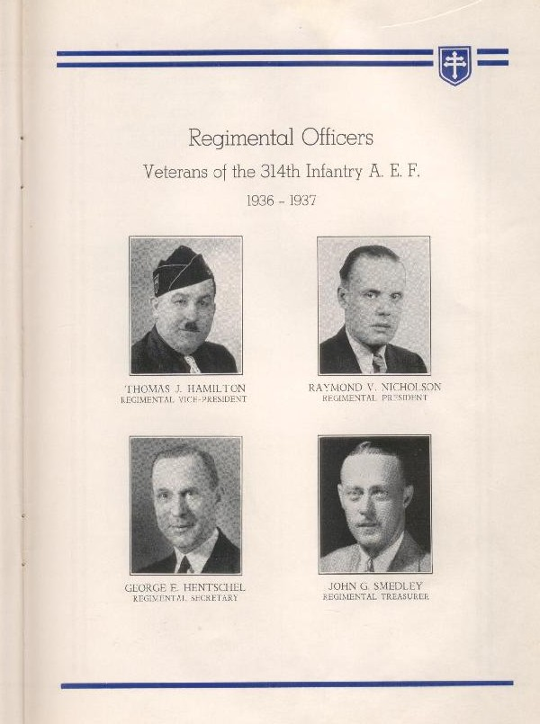 314th Infantry Regiment A.E.F. - Nineteenth Annual Reunion - 1937 - Page 23