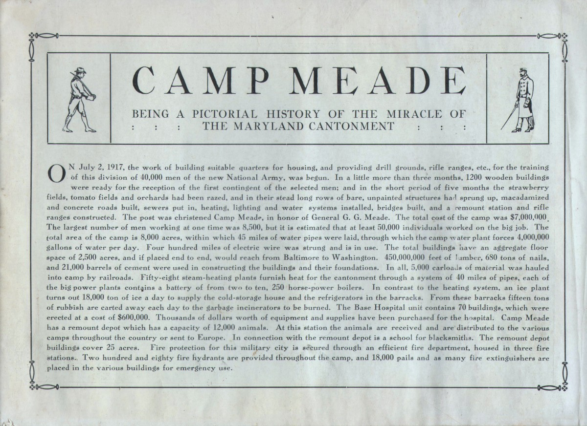 Camp Meade - Camp Meade - Souvenir Views - Page 1