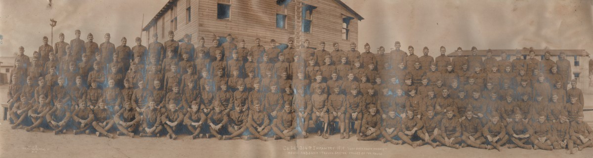 Company H 314th Infantry 1919 Just Back From France