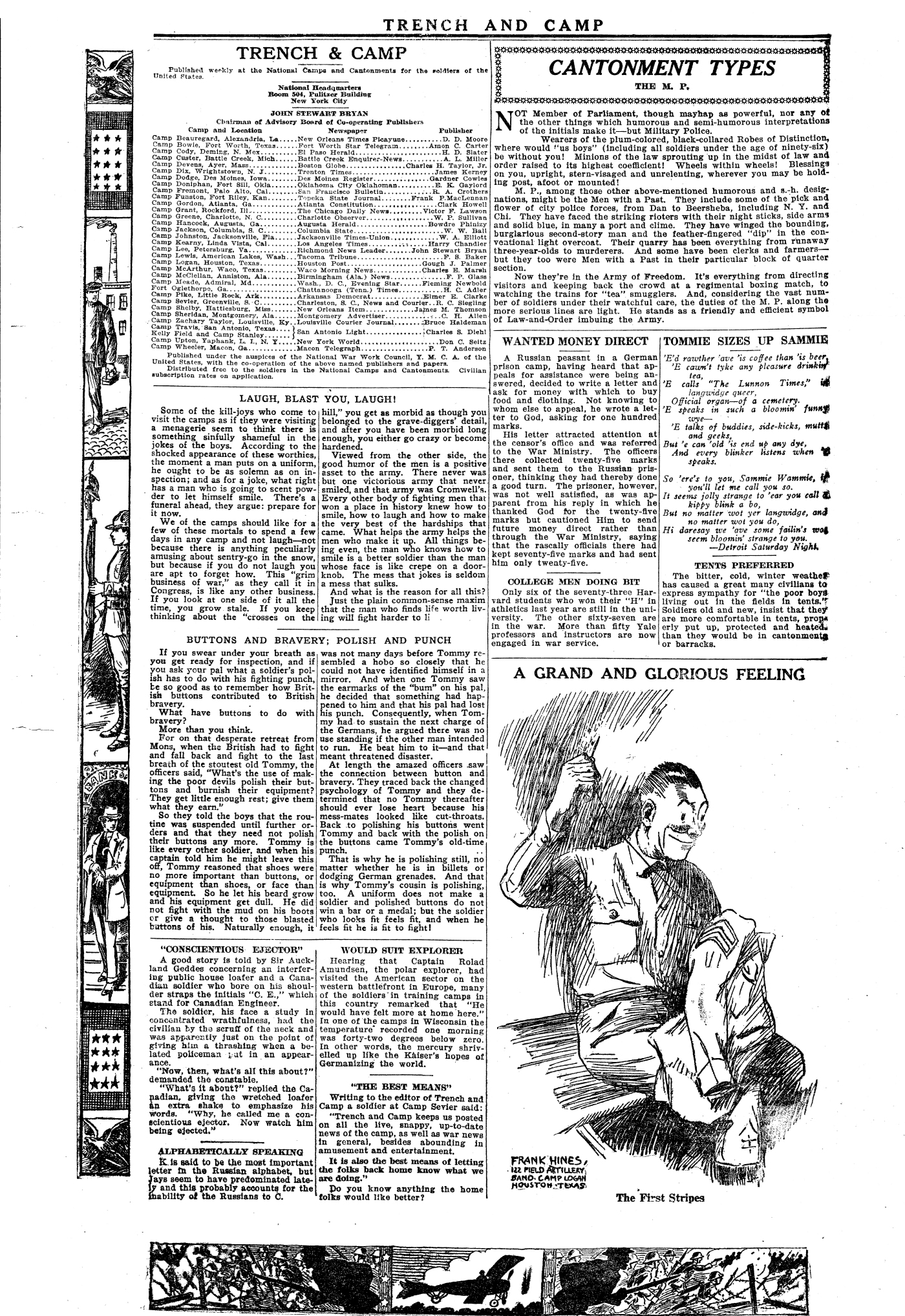 Trench and Camp Newspaper March 7 1918 Page 2