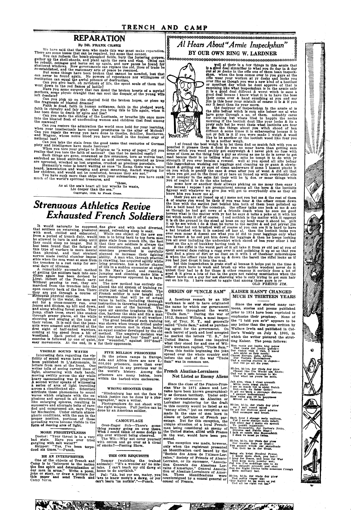 Trench and Camp Newspaper March 7 1918 Page 7