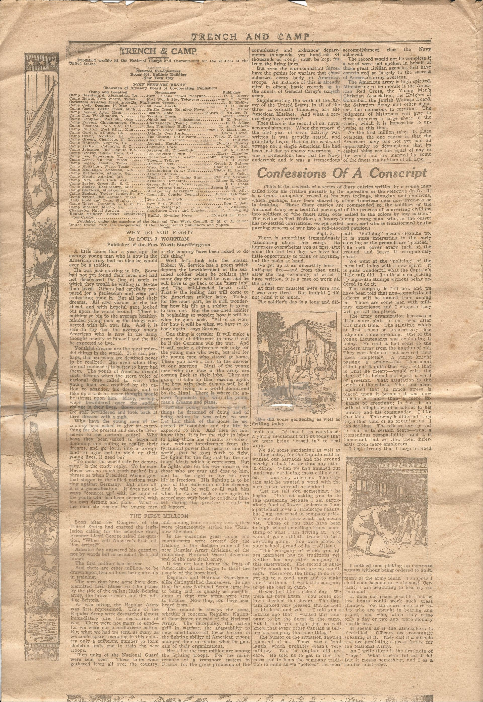Trench and Camp Newspaper July 14 1918 Page 2