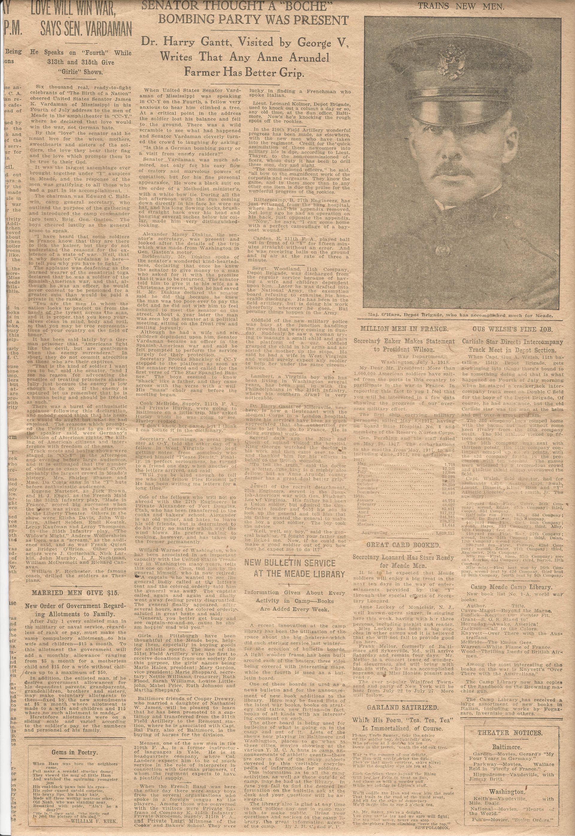 Trench and Camp Newspaper July 14 1918 Page 5