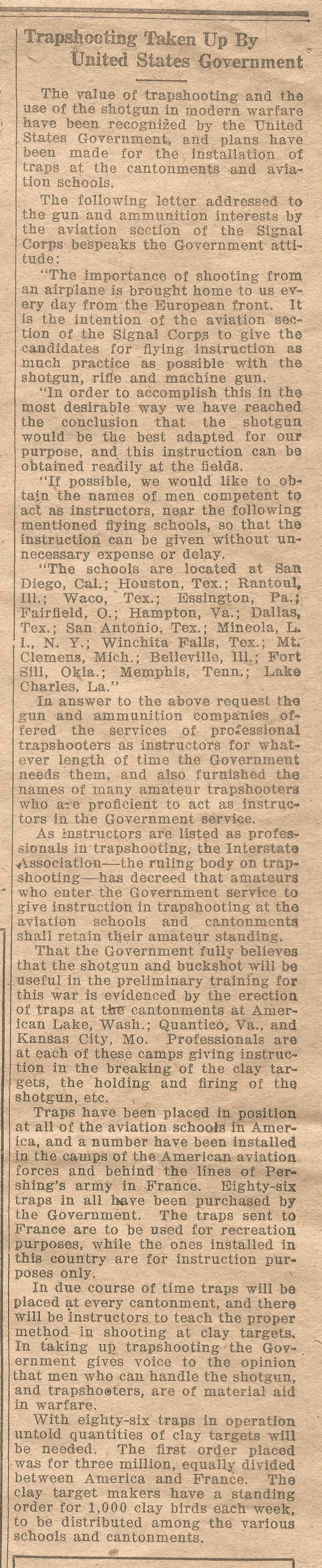 Trench and Camp Newspaper July 14 1918 Page 8