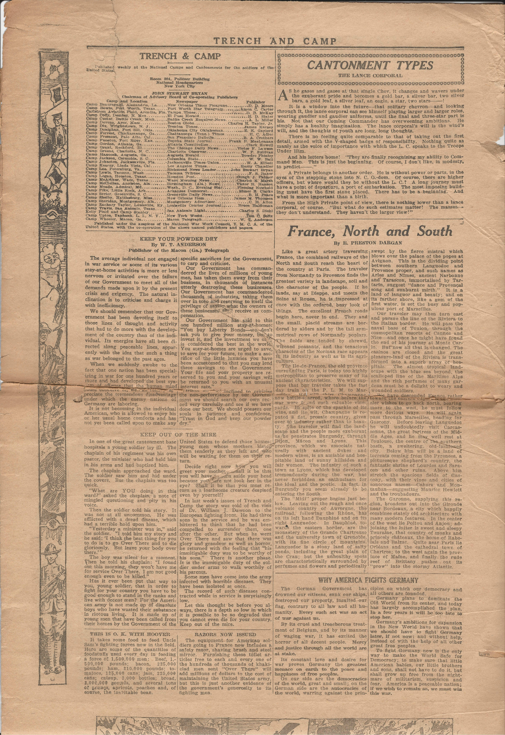 Trench and Camp Newspaper May 23 1918 Page 2