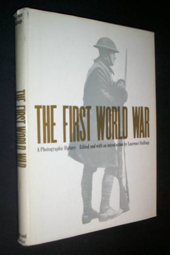 314th Infantry Amazon book First World War: A Photographic History by Laurence Stallings ISBN B000GPLV8Y