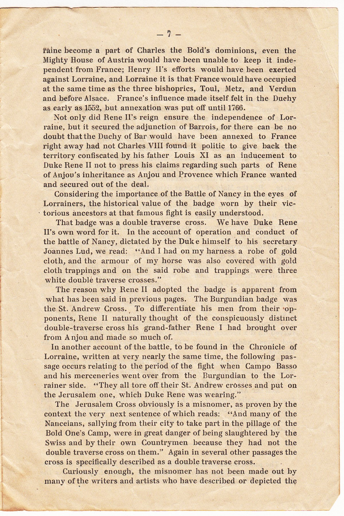 The Lorraine Cross Story of the 79th Division Insignia - Page 5