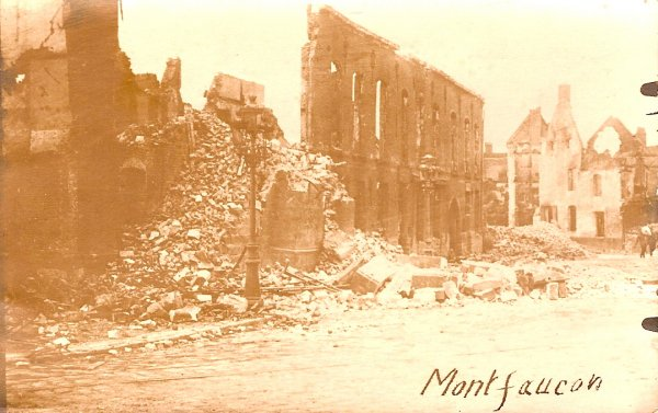 314th Infantry Regiment AEF - Montfaucon Ruins