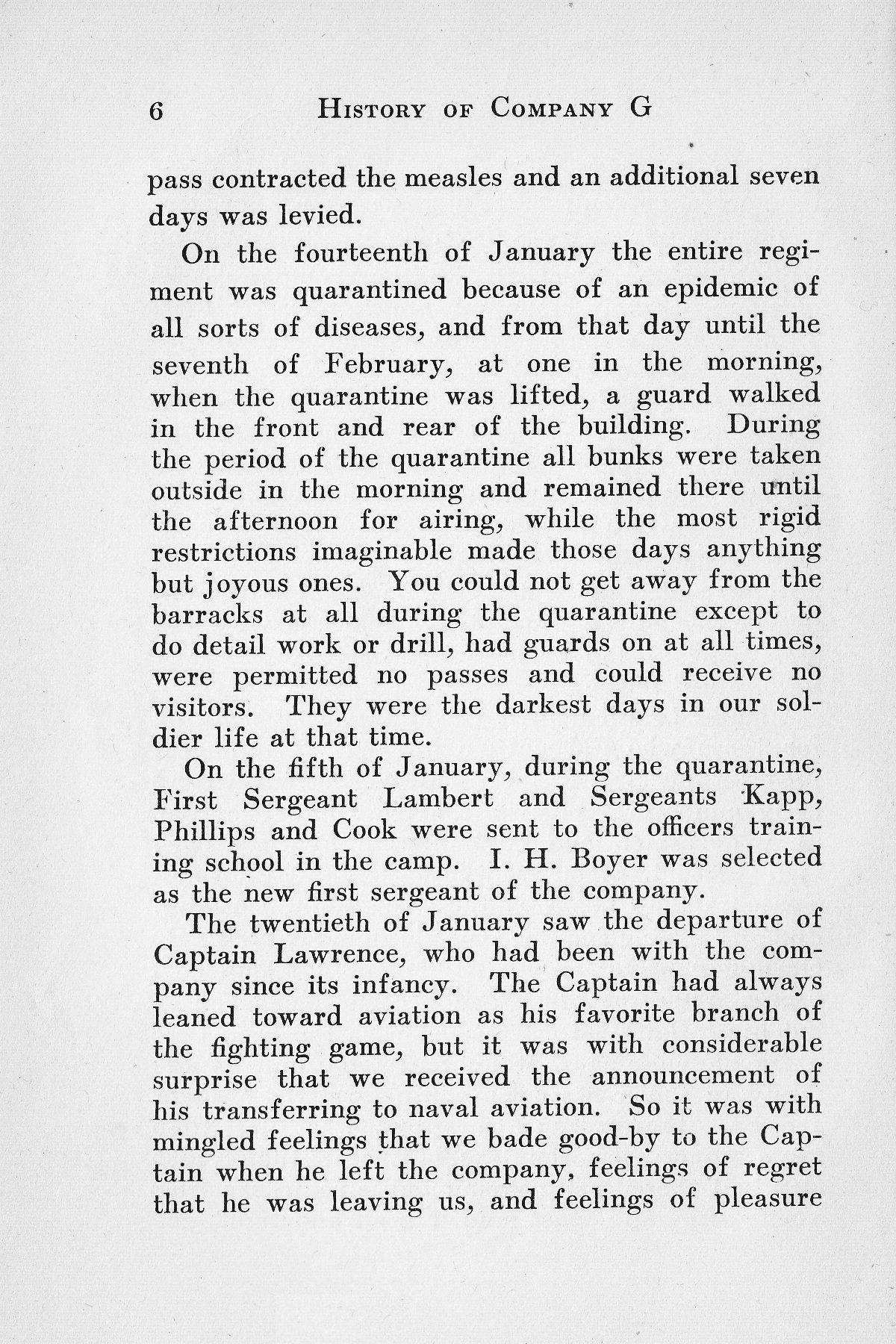 History of Company G 314th Infanty - Page 006
