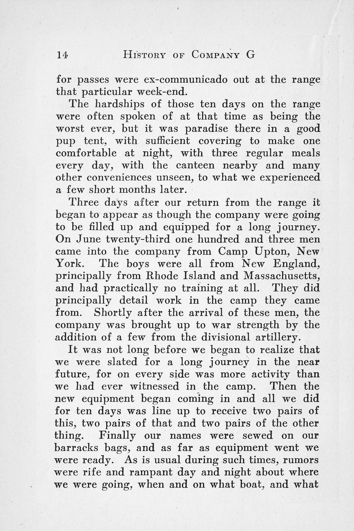 History of Company G 314th Infanty - Page 014