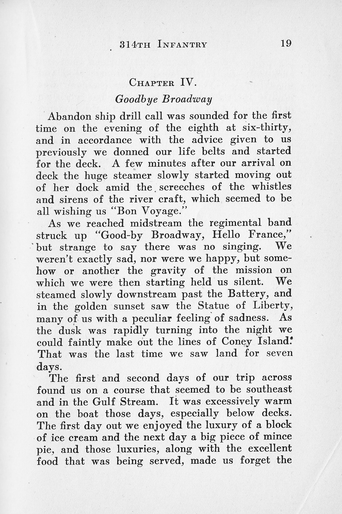 History of Company G 314th Infanty - Page 019