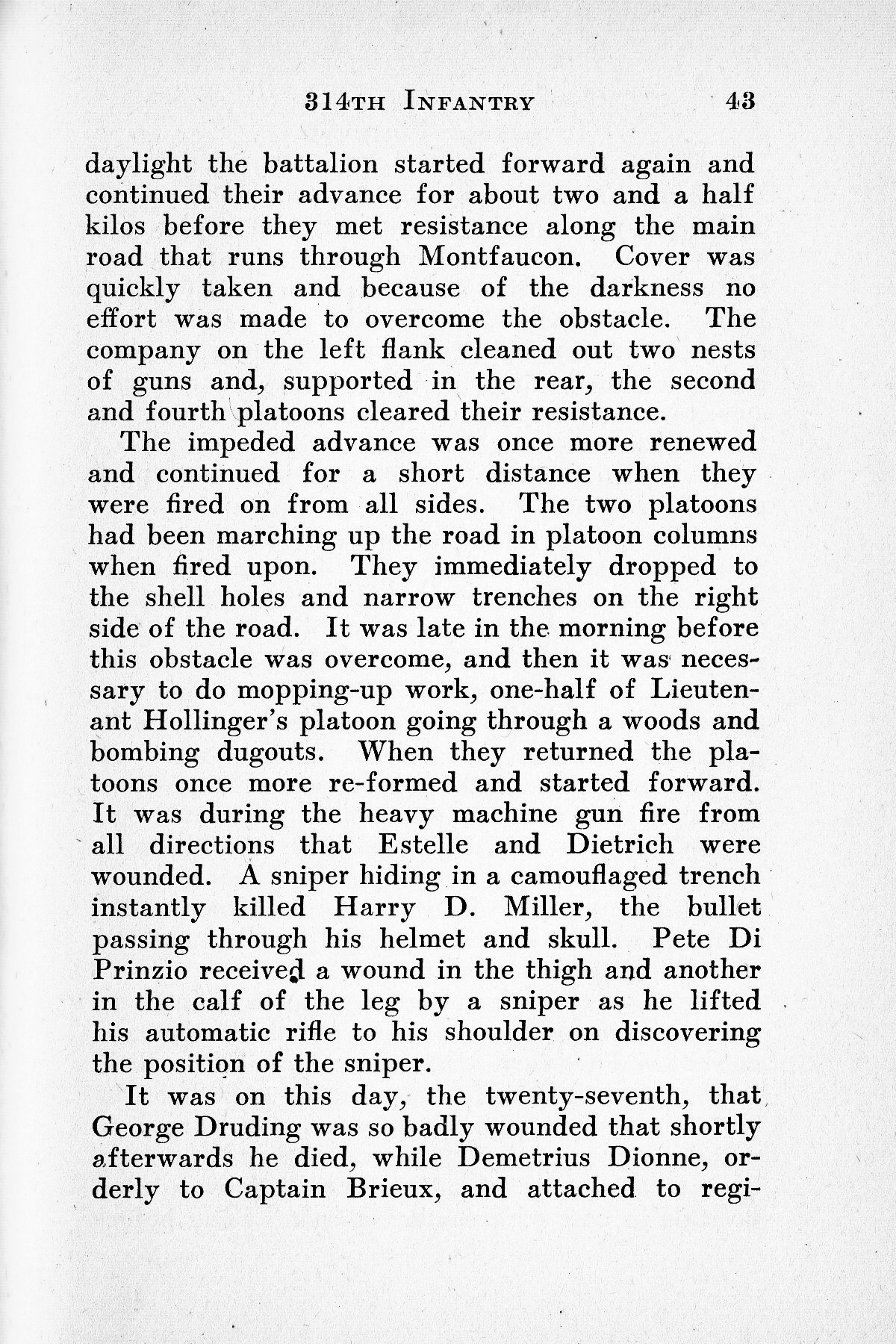 History of Company G 314th Infanty - Page 043