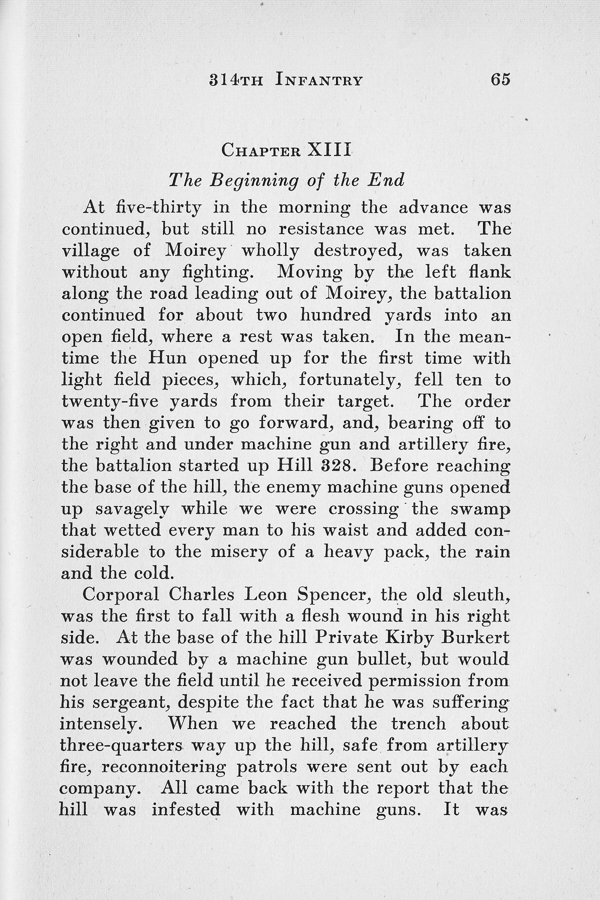 History of Company G 314th Infanty - Page 065