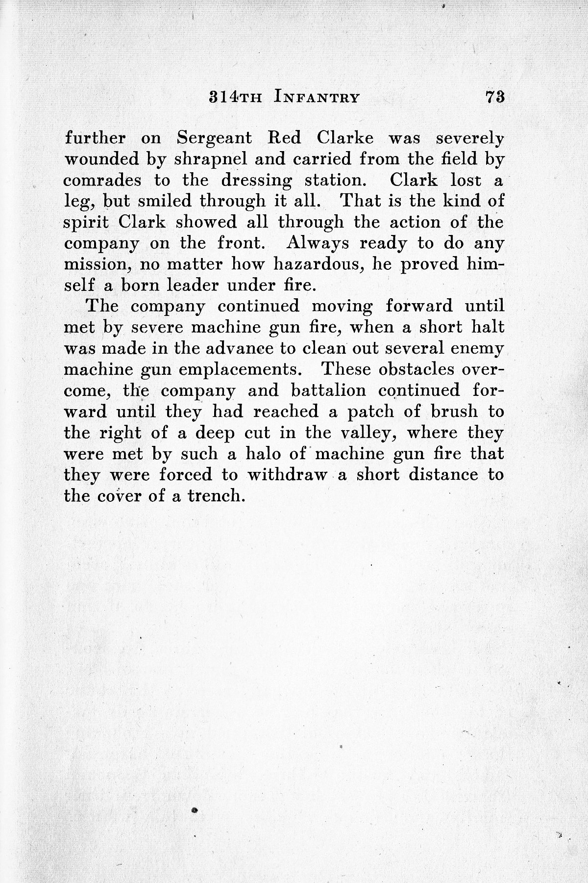 History of Company G 314th Infanty - Page 073