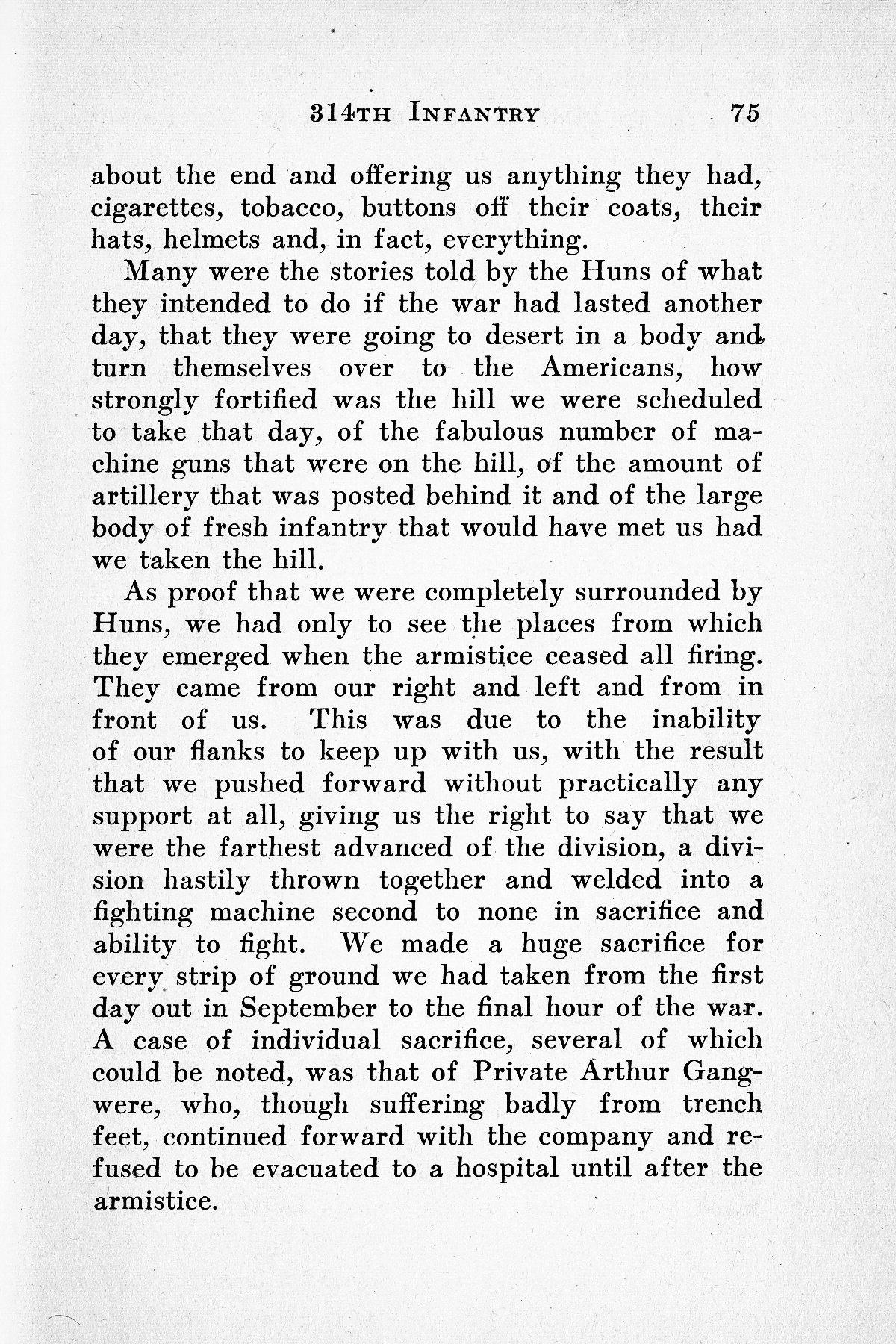 History of Company G 314th Infanty - Page 075