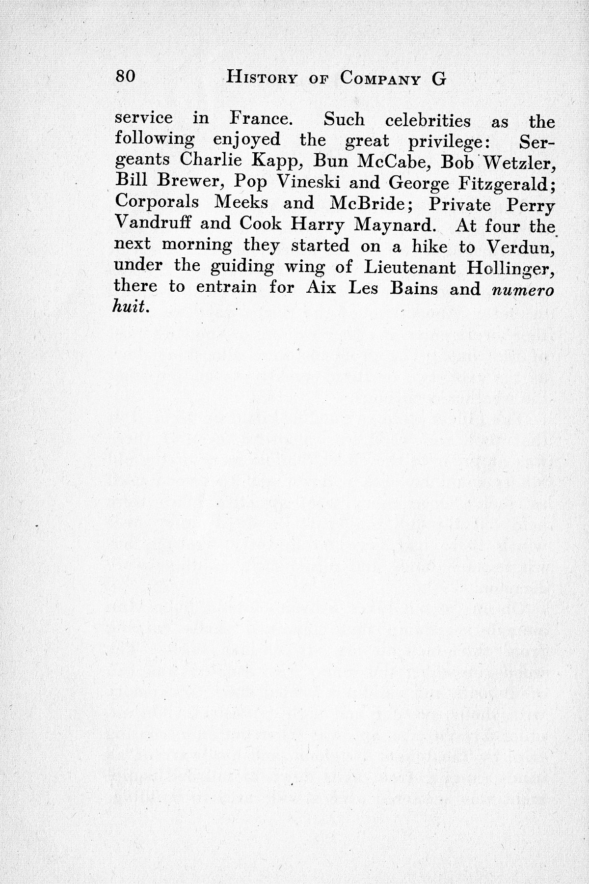History of Company G 314th Infanty - Page 080