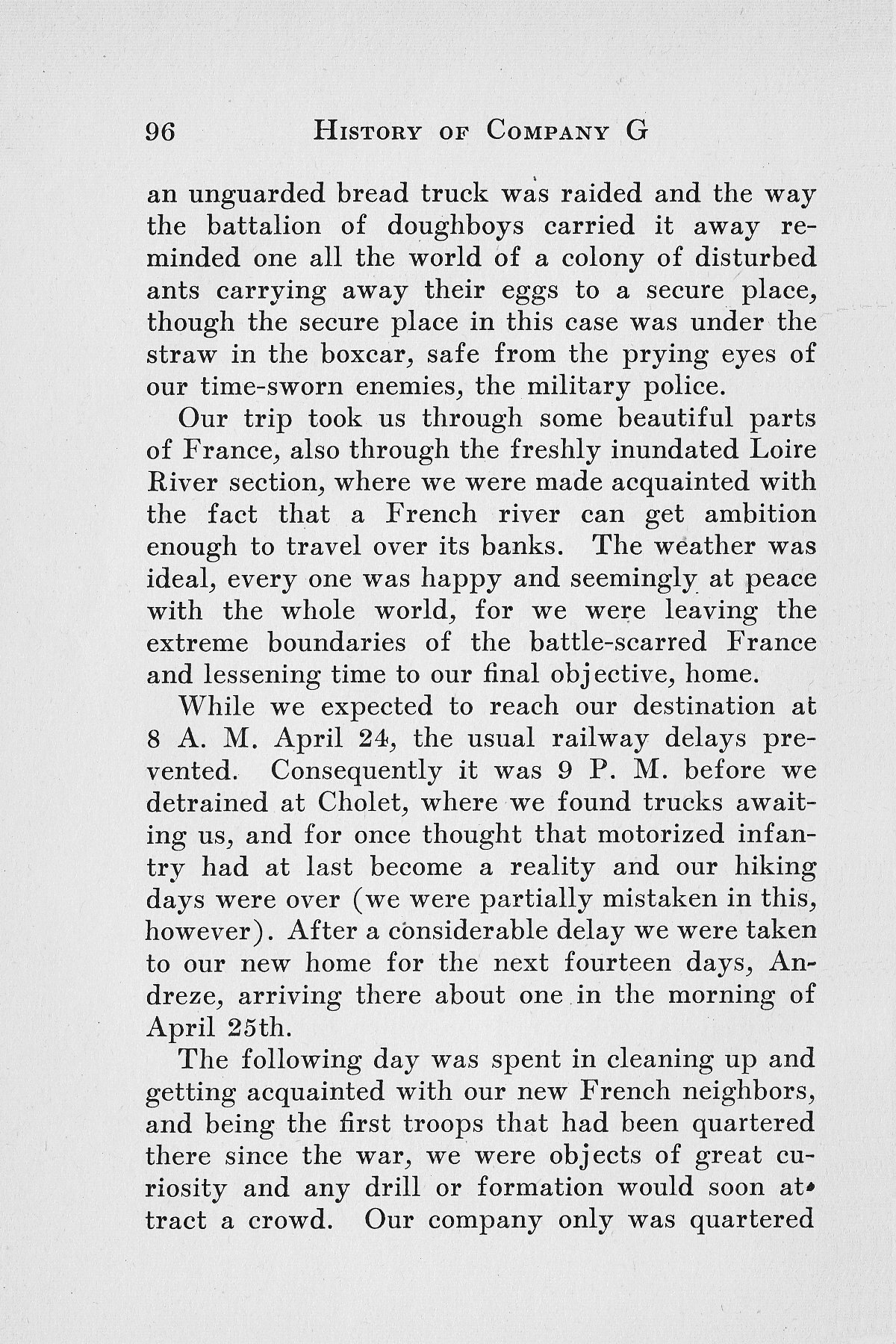 History of Company G 314th Infanty - Page 096