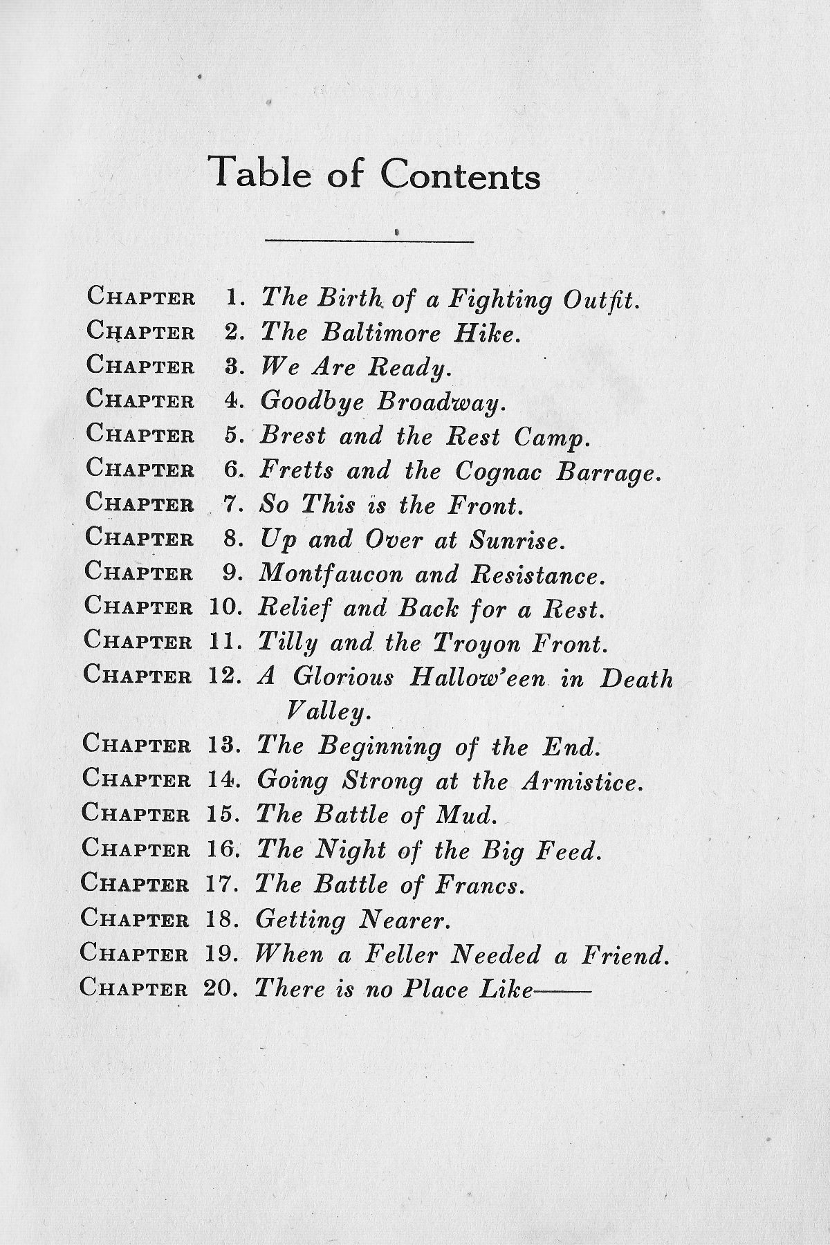 History of Company G 314th Infanty - Foreward