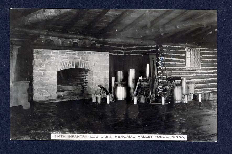 Veterans of the 314th Infantry Regiment AEF - Postcard - Inside Cabin
