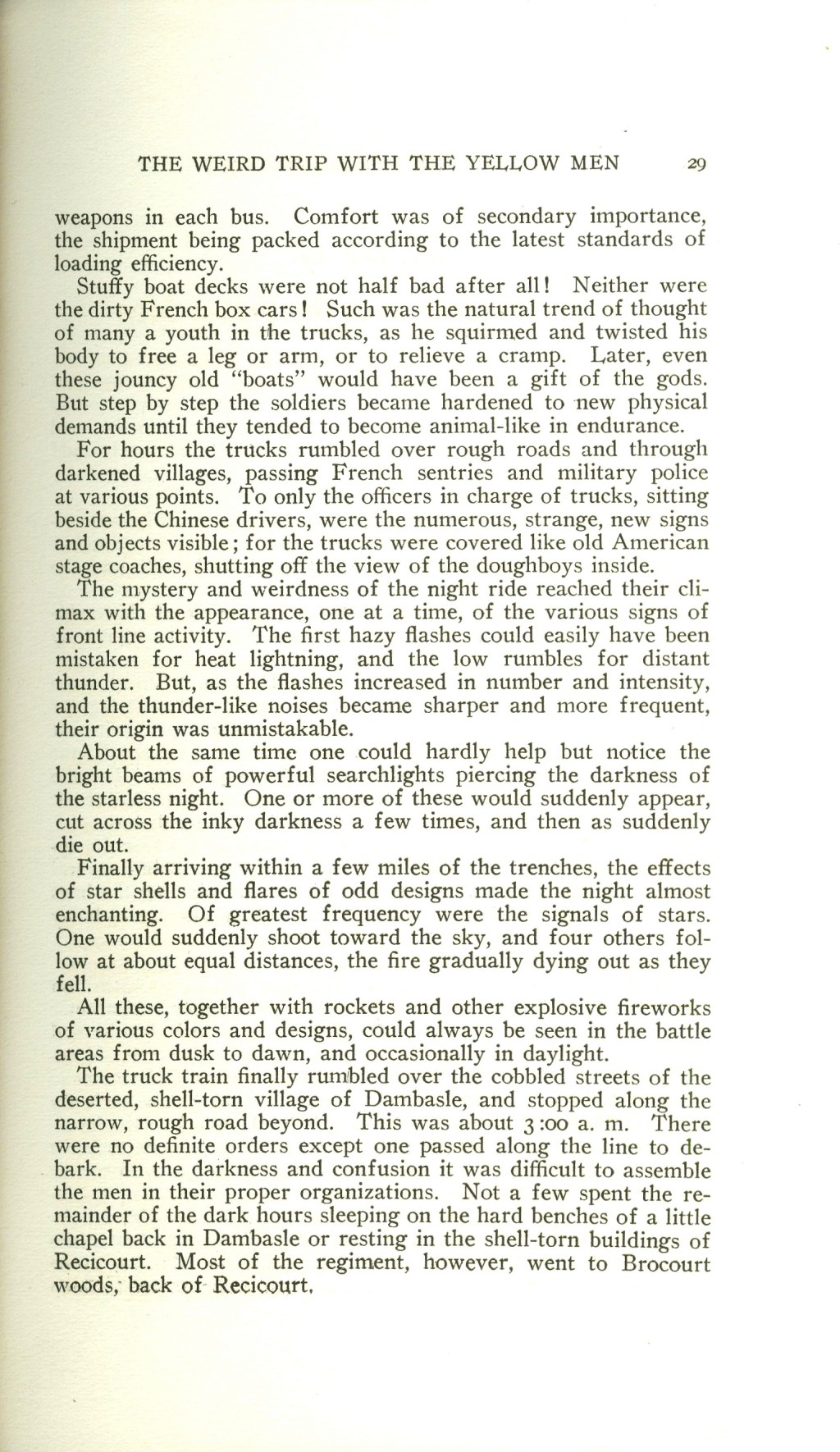 Veterans 314th Infantry Regiment A.E.F. - Under The Lorraine Cross - book by Arthur H. Joel - 1921 - Page 029