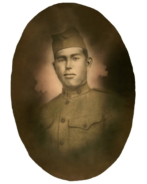 314th Infantry Regiment - Gus Mabry Simons WWI