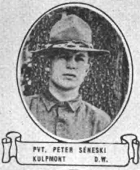 314th Infantry Regiment A.E.F. - Peter Seneski photo from the book Soldiers of the Great War